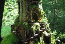 Fairy Garden / Things to make and ideas for a fairy garden and house