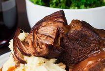 Middag biffkjøtt