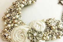 Make a Statement Bridal Jewelry / Less dress and more jewelry!  Sometimes it's the details that make the statement!
