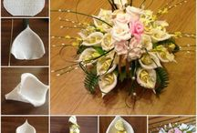 Цветы из бумаги -конфетные букеты