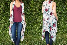 Fall Essentials :: Floral / We love the florals this fall, and these boutiques with the look.