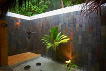 Bathroom and outdoor rooms
