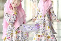 Muslim kids dress