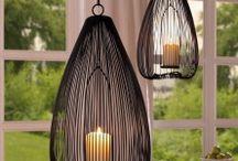 Licht / Leuchten, Kerzenhalter und Laternen