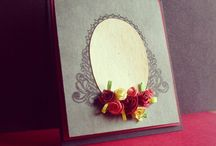 Handmade greetings by Deepti Thakur / Handmade cards