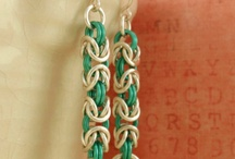 CHAINMAIL.Earrings / by Jolezz