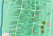Kaarten map Bali