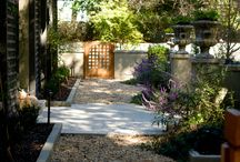 Plants / Design ideas of how plants can help shape a space and lend personality to your garden.