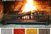 kleurschema's Harrisville  (wol)