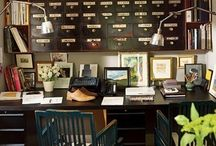 Home: Work Spaces / by Liz L