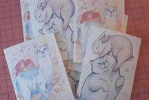 Vena Carr Original Illustrations / My original illustrations. See more and browse my shop at www.venacarr.com!