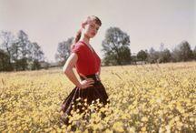 1952, BB, снимки Вальтера Карона