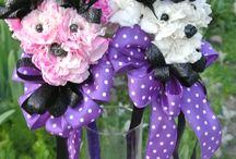 Dance Recital Bouquets / Ballerina Wands & Puppy Wands