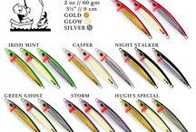 Salmon fishing jigs
