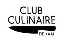 Huisstijl / Club Culinaire de Kaai.