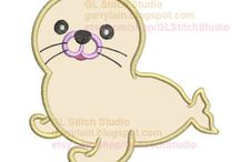 Seal applique