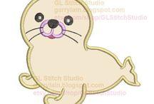 Seal applique