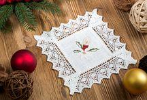 Tischdecken für Weihnachten / Die richtigen Tischdecken für die Weihnachtszeit.