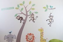 Wall Stickers / Nursery Wall Stickers/Decals for children's rooms