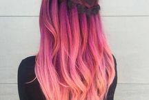 Pelo multicolor