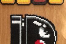 Perler beads - Mario
