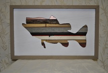 Fish picture / Wood