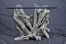Driftwood Tables / Custom driftwood furniture