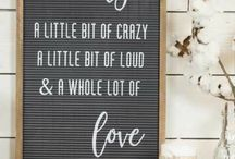 Letter Board Examples / Letter boards are so much fun and have SO many possibilities! My ever-growing inspiration list!