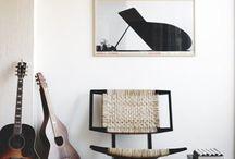 Musical Living Room inspo