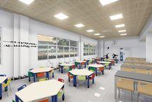 American School of Valencia (ASV) / Reforma de interiorismo realizada para ASV, diseñado y construido por MSE project