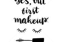 Makeup wallpapers, art