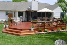 Outside/deck ideas / by Kristy Mosel