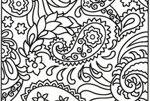Black & White Coloring Pages