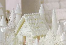 Christmas decor - white