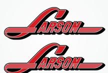 Vintage Larson Boat decals