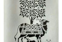 Ink Painting Warli Art