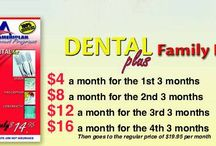 Individual and Family Health Discounts / A discount medical plan that offers a reduction with dental, vision,  pharmaceutical and chiropractic services.  It is NOT Health insurance. Go to www.mybenefitsplus.com/kmk for more information / by Kathleen M. Kenneally