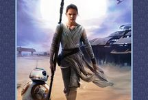 The Force in Fabrics / Star Wars and the Force Awakens Fabric
