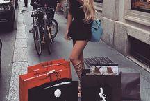 luxury shopping...