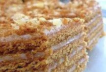 Dessert - Russian Cakes - Торт