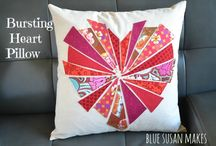 Pillow Pop / Modern quilted pillows and pillow covers we all want!