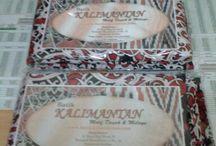 Batik Kalimantan / Batik Kalimantan Motif Dayak & Melayu  www.batikkalimantan.com 08164265265 atau 082151652480