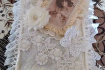 Handmade Lace Journals by Card Art