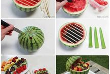 What can't you make with Fruit! / Fruit is delicious and healthy and here's great ways to incorporate it everyday!