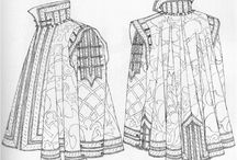 Sleeved Medici Cloak / Research and ideas for Medici sleeved cloak.
