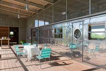 Tin Cantina Patio / Ideas for backyard tin cantina.