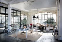 Style Me: Industrial Design Inspiration / Industrial Interior Design Style Inspiration