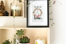 OUR DESIGNS + Wall Decor / Prints created by the Danger & Moon studio