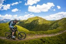 Mountainbiking / Mountainbiking in Europe. Enduro, singletrails, crashes...you name it.