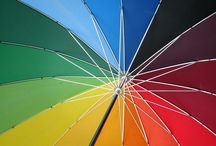 Interiores multicolor / Pintura y decoración de interiores en variedad de colores, suaves o intensos